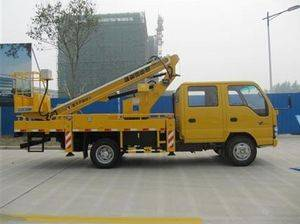 Truck-mounted Boom Lift with Lifting Height 18.7m,Capacity 250kg(GTTM 18)