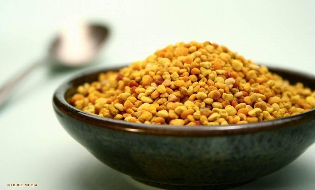 100% pure nature tea pollen for food
