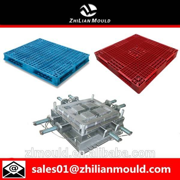 taizhou high quality mold reinforced plastic injection pallet moulds for warehouse