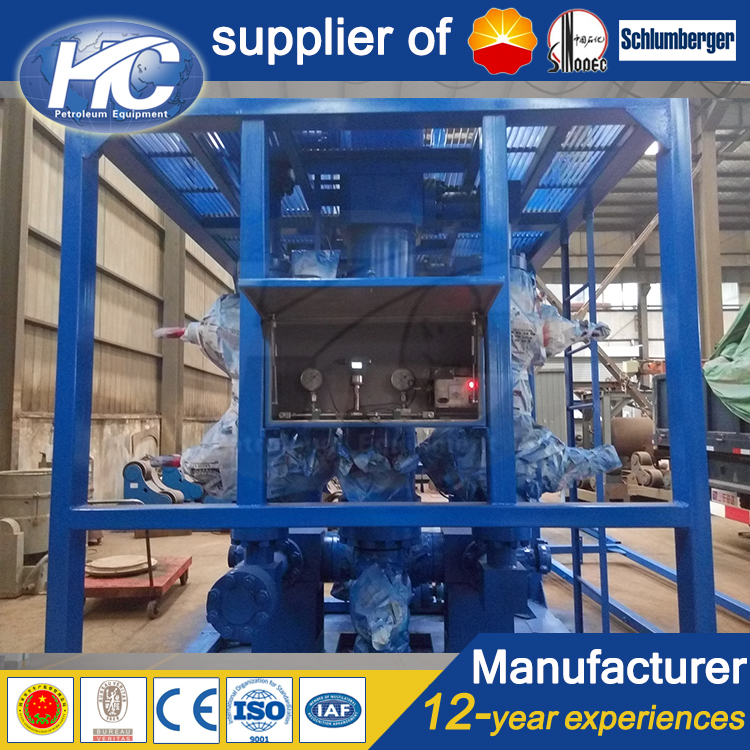 Oil and natural gas well testing equipment three phase filter separator / filter vessel with differe