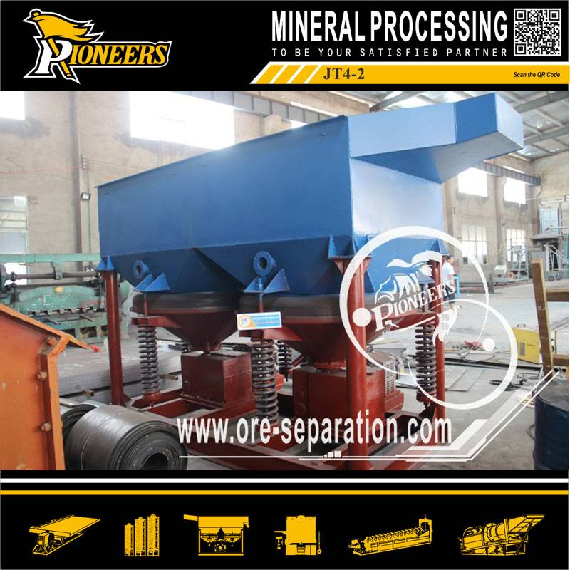 Mineral jig separator,placer jigging separator,gold diamond jigger