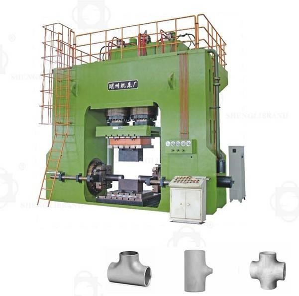 HJ041 T-pipe Hydraulic Press