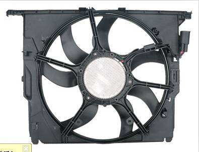 For BMW F10 F18 Auto Electric Motor Radiator Cooling Fan