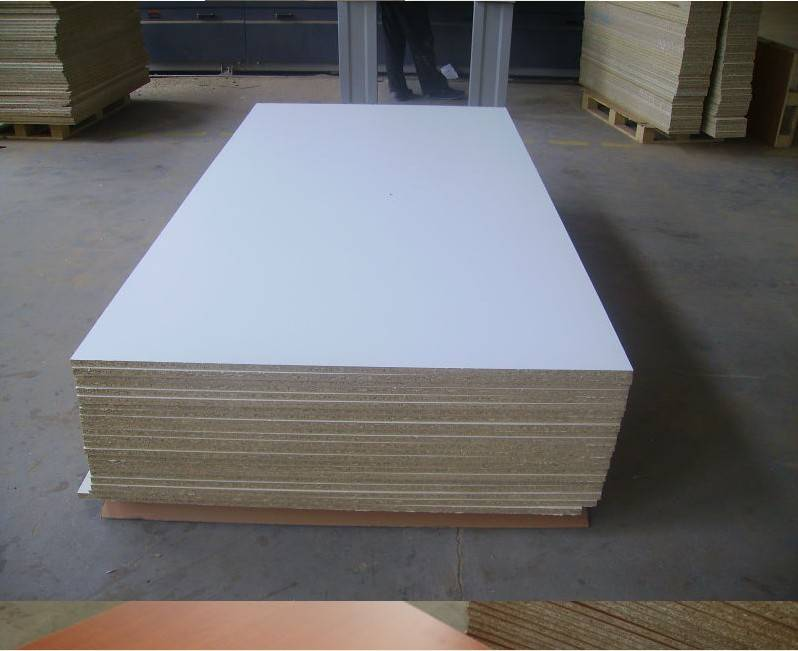 white melamine chipboard