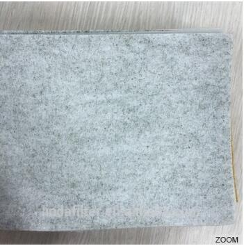 Polyester Carbon Fiber with Polyester Muntifilament Yarn Air Filter Media / Cloth/ Fabric