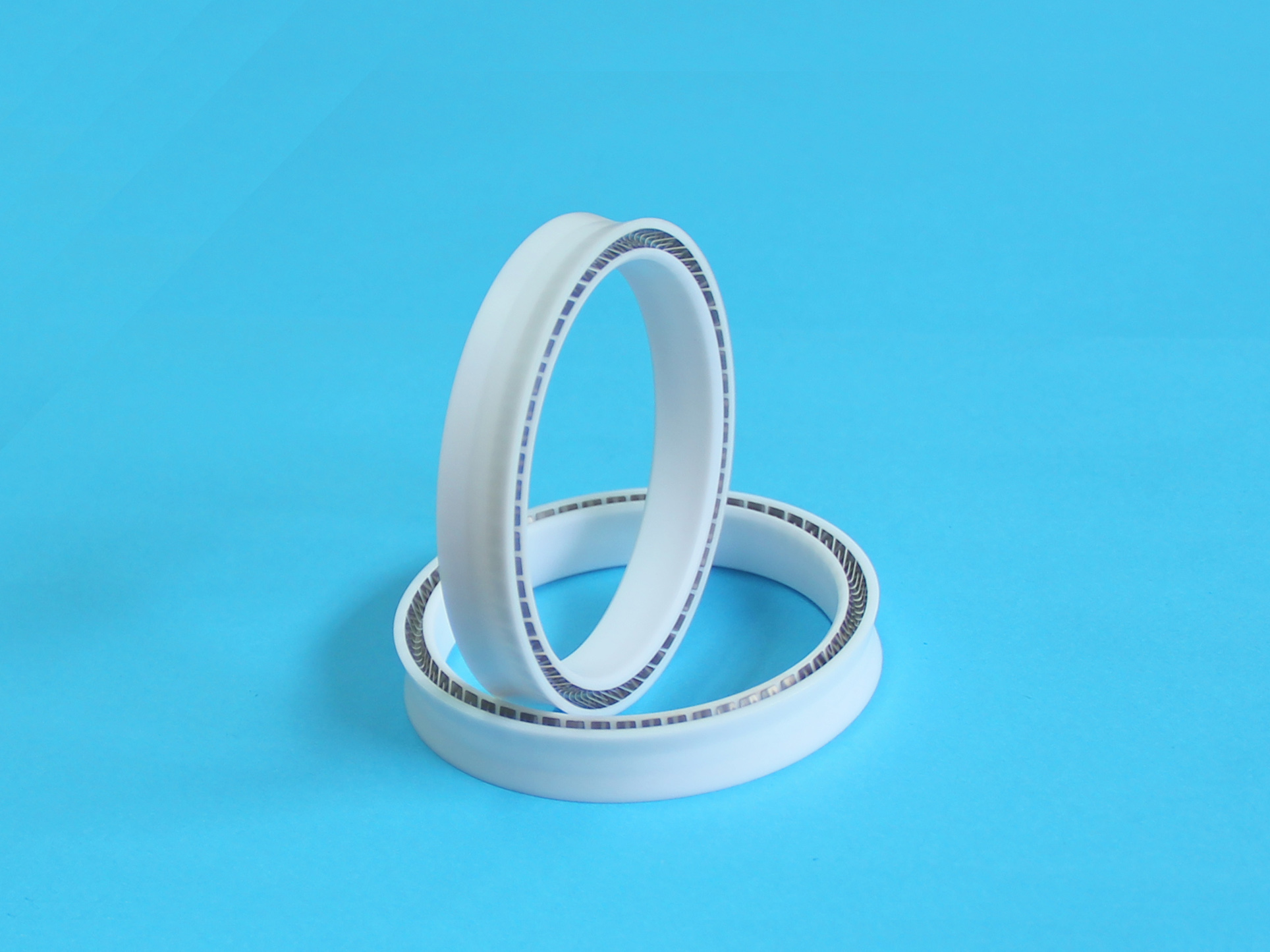 PTFE Spring Energized Seal For Rotary And Reciprocating Shaft