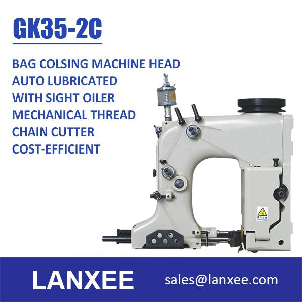 Lanxee 35-2C Chain Stitch Bag Closing Sewing Machine