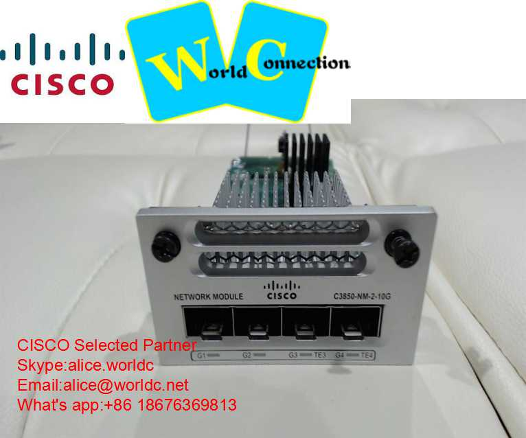 C3850-NM-2-10G Cisco 3850 switch module 3850-NM-2-10G