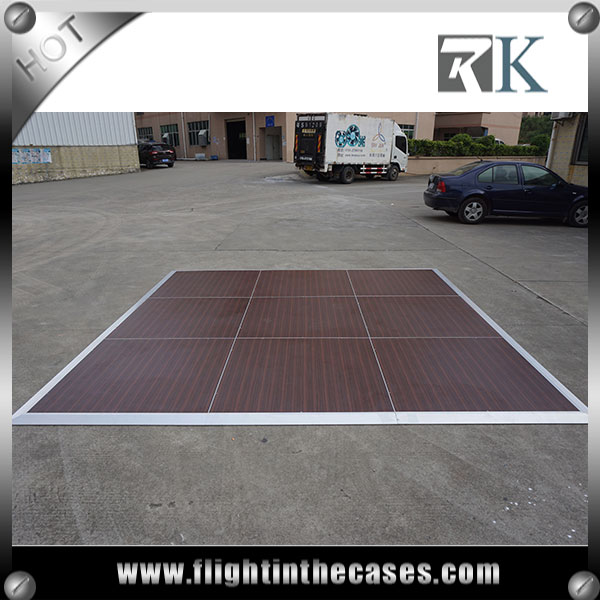 RK colorful wood dance floor for sale