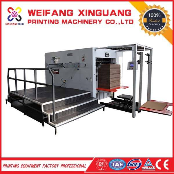 1300mm high quality semi-automatic corrugation die cutting machine