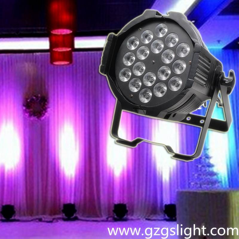 Superior Light Efficiency 18*10W RGBW4in1 Zoom Wash LED PAR Light for decorations (P18-4)