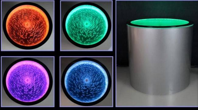 LED Colorful Bubble Coffee Table