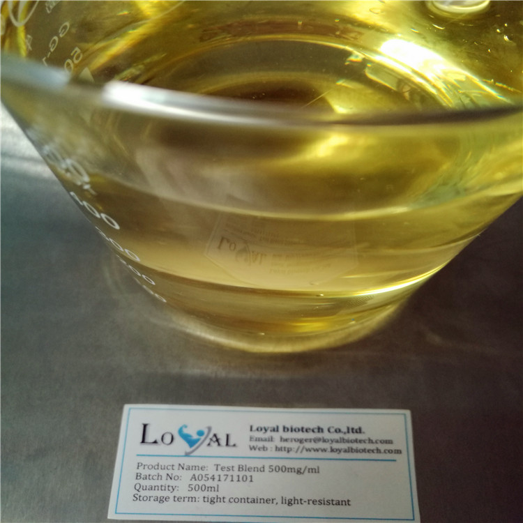 99% purity Test Blend 500 Blend Injection Liquid Oil Test