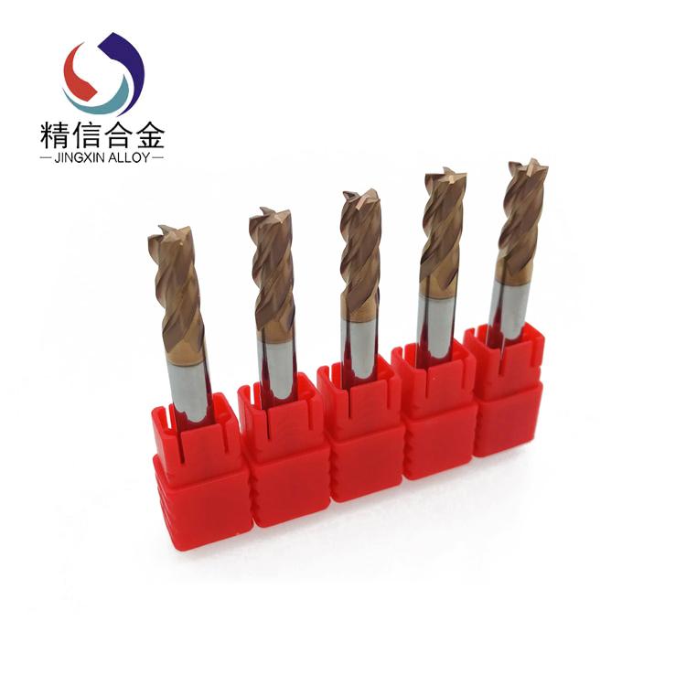 HRC55 carbide end mills mill cutter aluminum