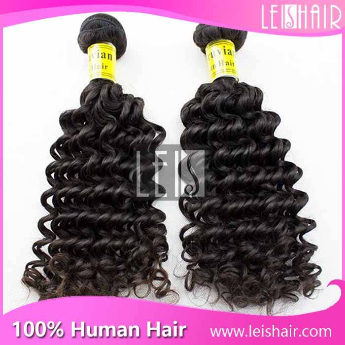 Wholesale Price Virgin Peruvian Curly Hair