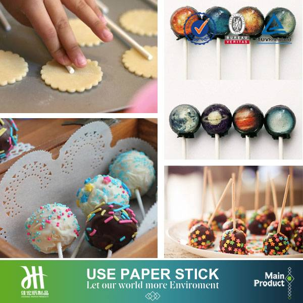 Paper stick tools for home-baking biscuit and cookies