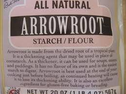 Thai Origin arrowroot starch and arrowroot flour