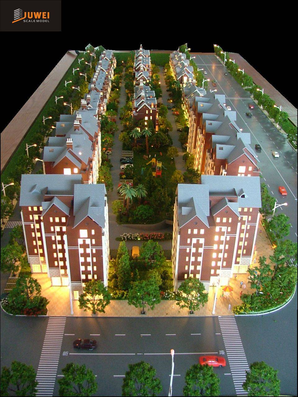 3D Plastic Architectural Model Making,Residential Model