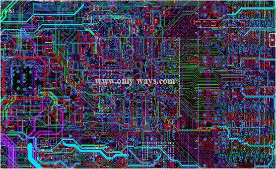 Laptop pcb design and layout