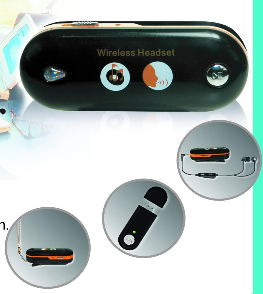 z-880b-2.4G wireless headset