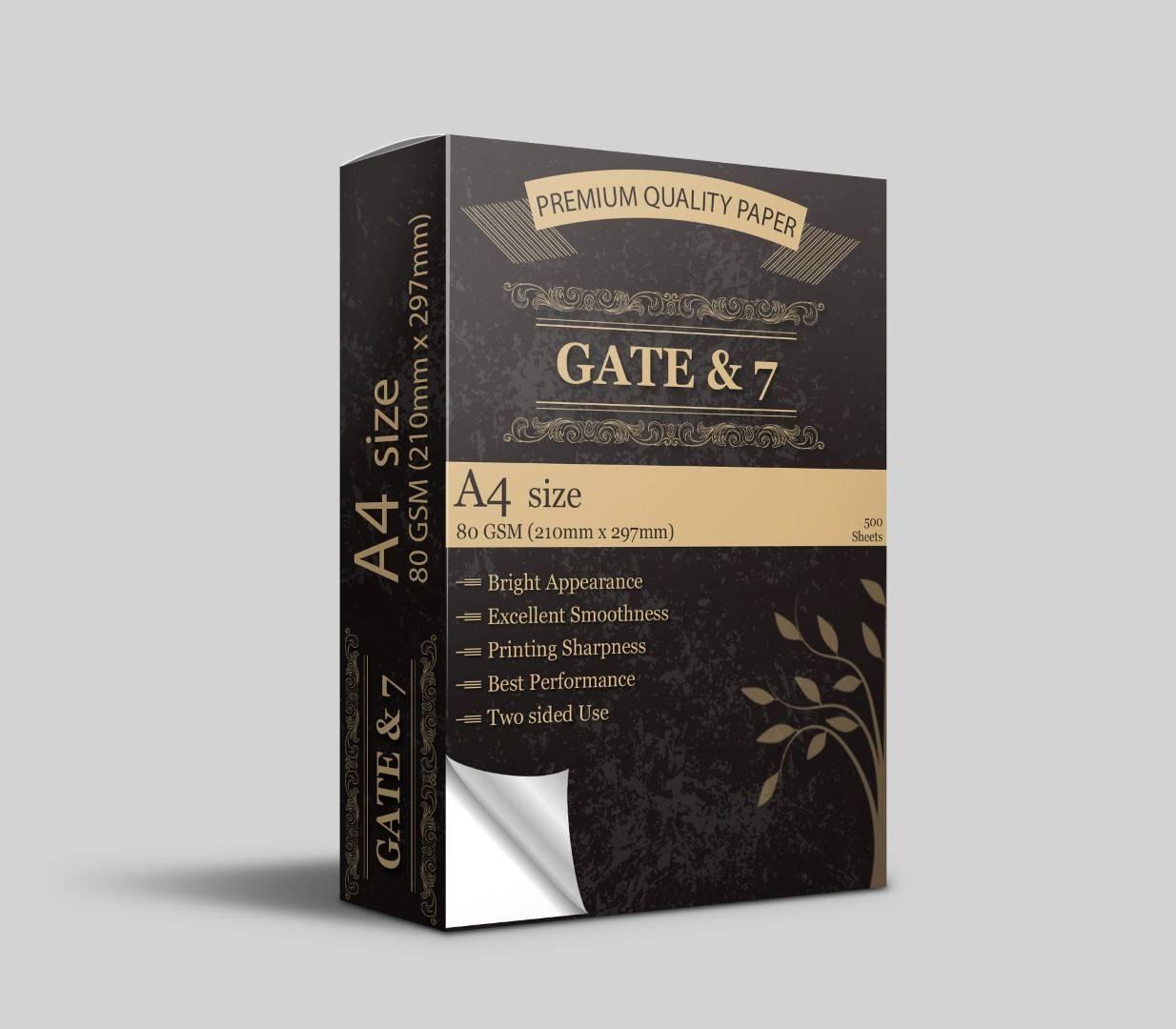 A4 Paper Gate & 7