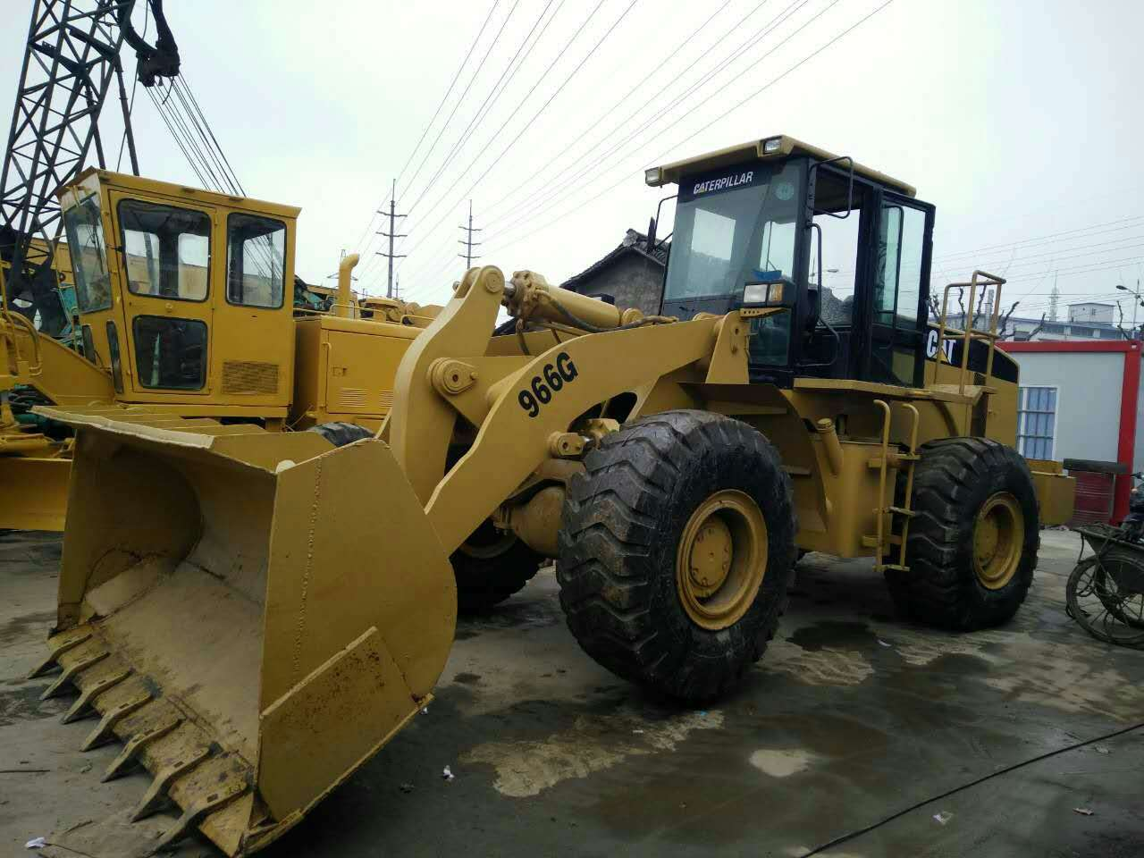 used Caterpillar 966g wheel loader good condition for cheap sale