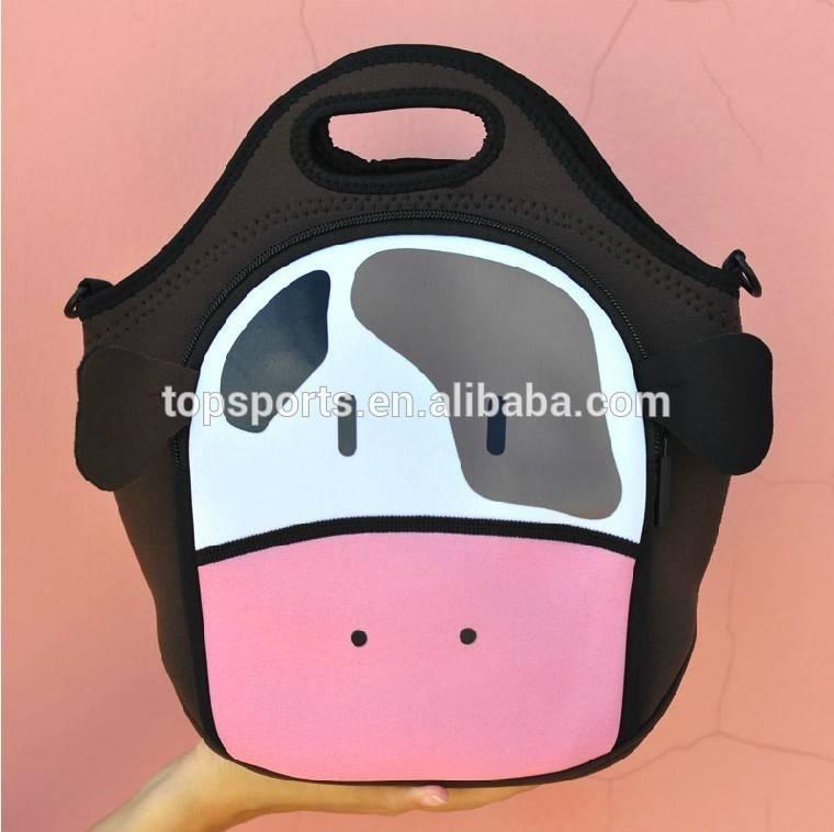 Hot sale fashionable neoprene lunch bag, picnic bag