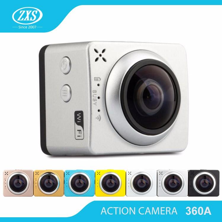 mini helmet camera/360 action camera/best mini dv digital camcorder ZXS-360A