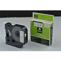 Dymo 45013 lable 12mm black on white label compatible for Dymo LM series label printer