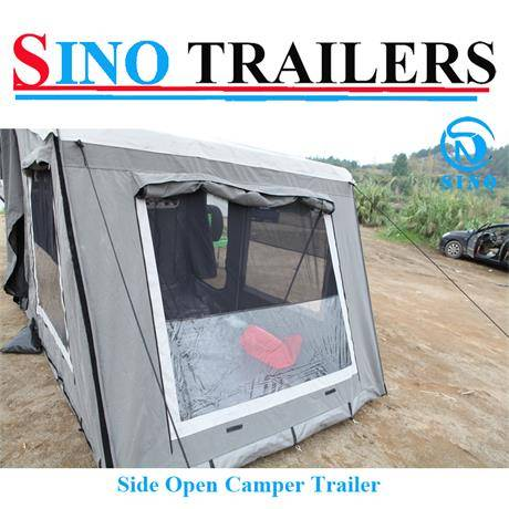 Heavy Duty Floor Camper Travel Trailers