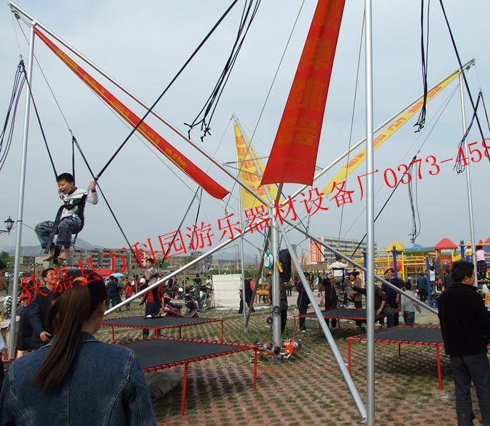 Portable Bungee Trampoline Mobile Bungy Bouncer