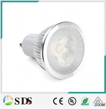 High quality GU10 6W spotlight 600lm warm white LED spot light