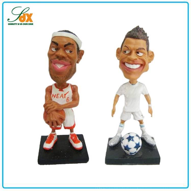 Top Sell Popular Fashion Funny Basketball Star Bobble Head