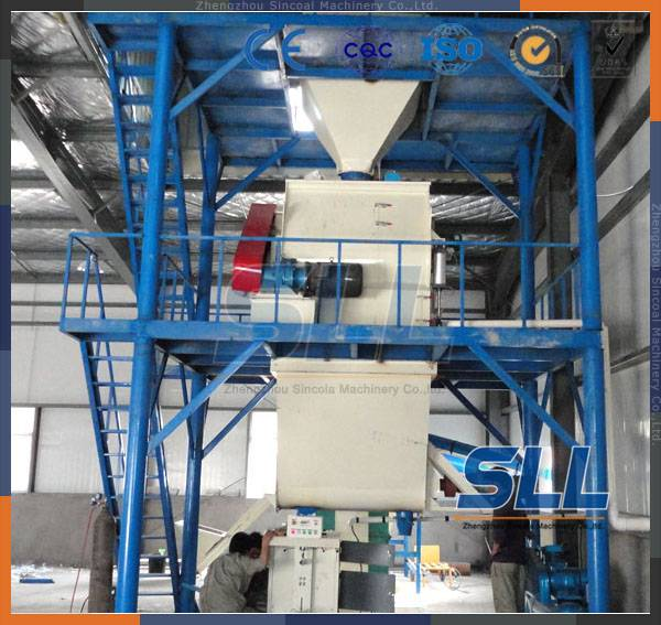 SINCOLA Germany technology ceramic tile adhesive mortar manufacturing plant, dry powder blending