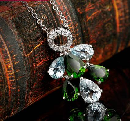 2014 Crystal Fine Jewelry Fashion Crystal Necklace