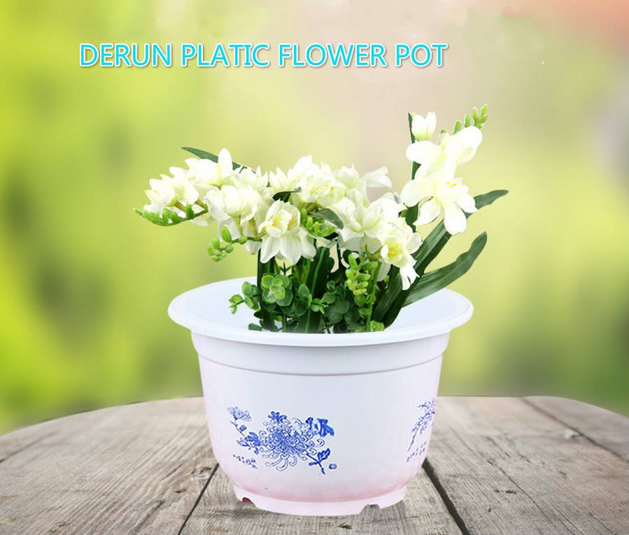 China Garden Plastic Flower Pot