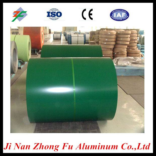 China professional manufacturer PE PVDF pre coated aluminium coil for Construction