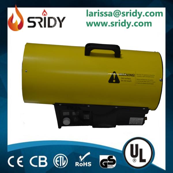 30KW protable Gas Heater Industrial Workshop Space Fire Heater Propane/LPG Electric greenhouse heat