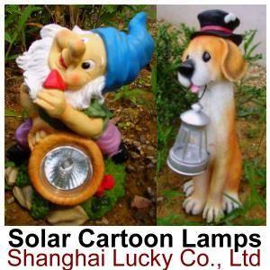 Solar CARTOON Lamps