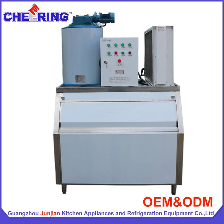 3Ton Industrial ice flake making machine maker
