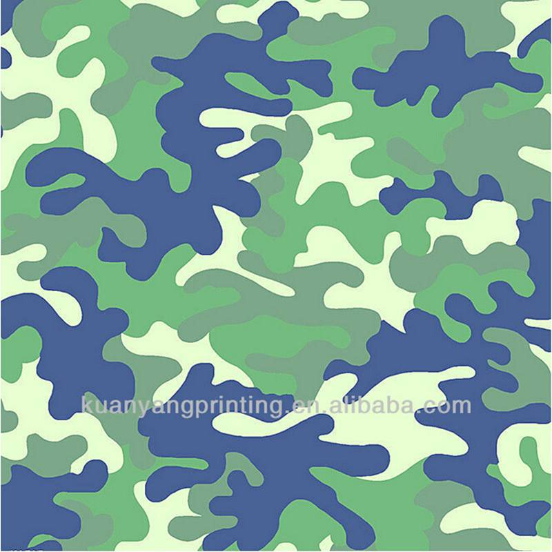 KW11-4101 camouflage print 4 way stretch fabric for beach short sports wear