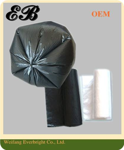 PE Star Sealed Garbage Bag on Roll