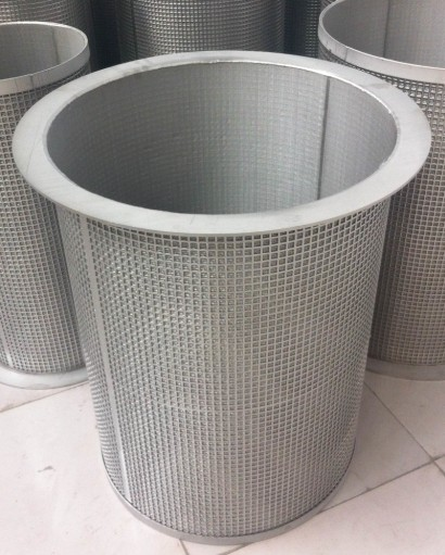 stainless steel temporary strainers / Perforated Metal Temporary Filters