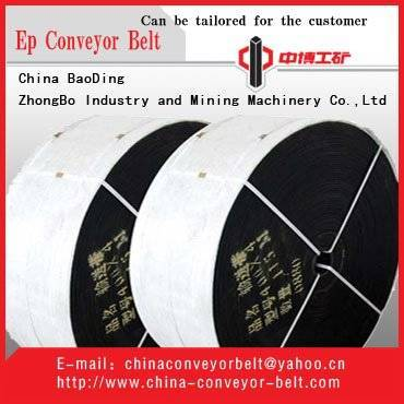 EP conveyor belts