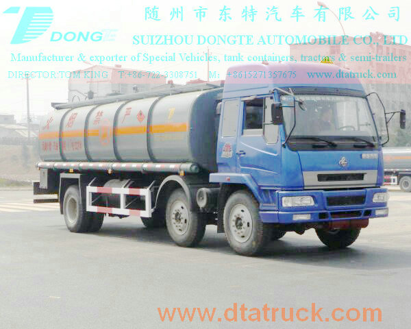 DTA5250GHYL Chemical liquid xylene tanker
