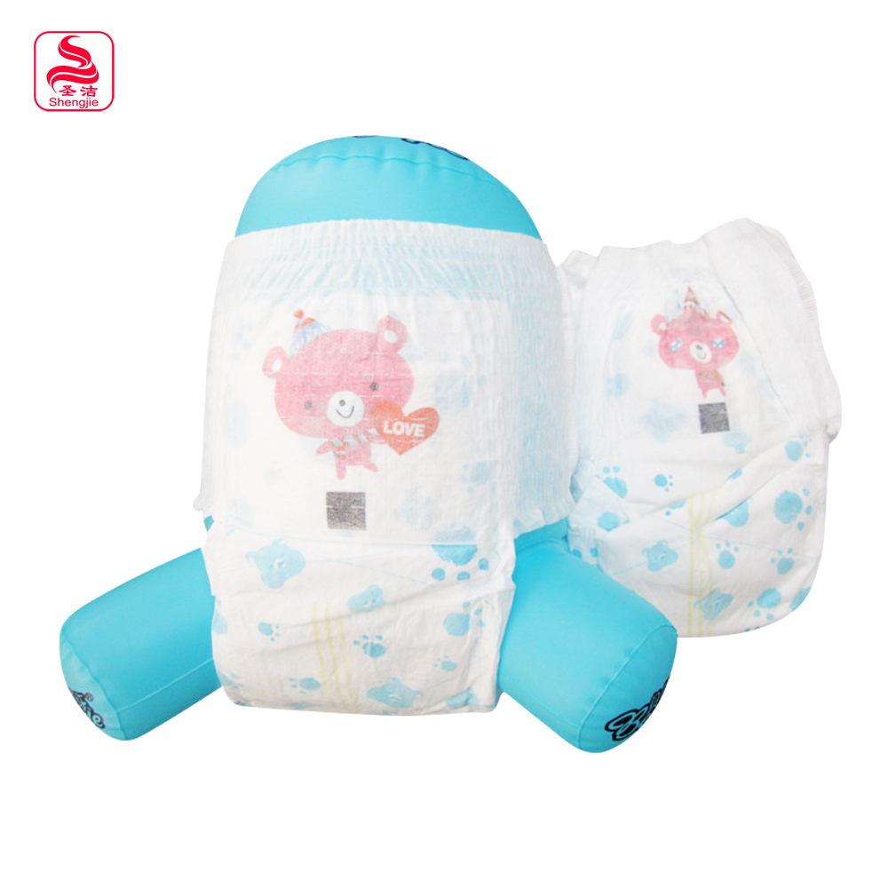High Sale Printed Lovely Bear Pattern Baby Diaper Machine Price