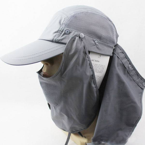 Protection Outdoors Large Brimmed Fishing Hats SUN UV Protection Bucket Hat with neck cover