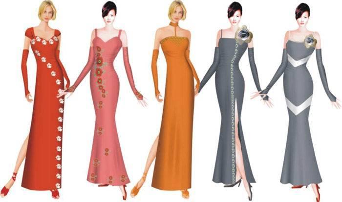 3D Fashion Design system