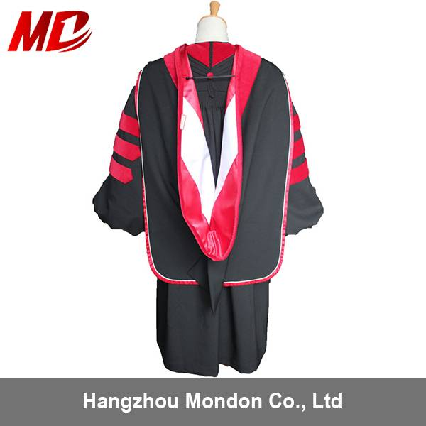 US Doctoral/Master Hoods can be customized according individual University