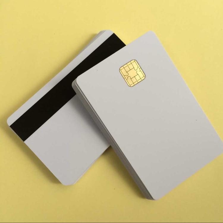 J2A040 Chip JAVA Smart Card With Hi-co Magnetic Stripe Comp JCOP21 40K